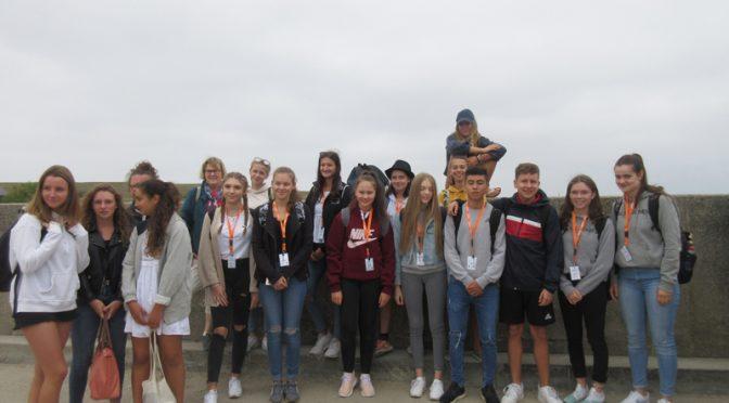 Les jeunes Allemands à Carnac